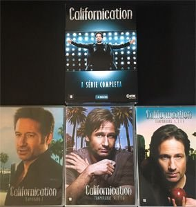 DVD BOX Californication - Série Completa