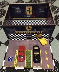 Diorama customizado para  miniaturas em escala 1/64