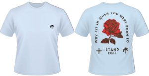 CAMISA VER 020 STAND OUT - AZUL BB