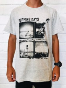CAMISA SURFING DAYS CINZA
