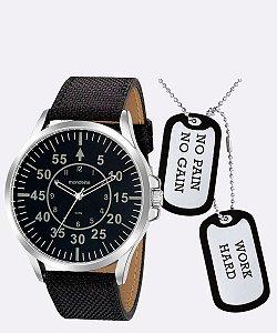 Kit Relógio Masculino Mondaine