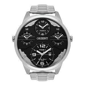 Relógio Orient Masculino Aço Prata