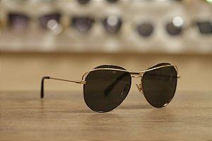 Óculos Solar Metal Dourado Dolce & Gabbana