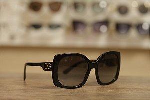 Óculos Solar Dolce & Gabbana Acetato Preto
