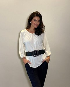 Blusa Nadege Off white