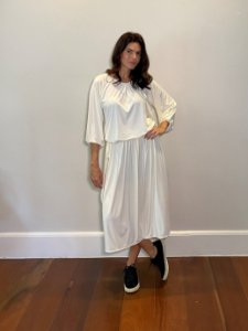 Saia Midi Juliana Off White