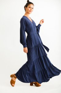 Vestido Longo Betina Marinho