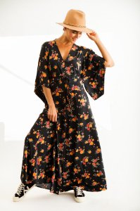 Vestido Longo Karen Buquê