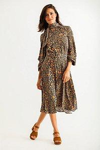 Vestido Midi Luana Jaguar