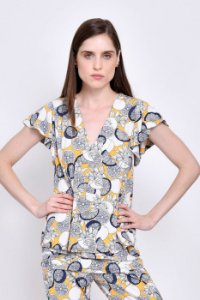 Blusa Beatriz Lemon