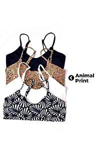 Top Cleo Animal print