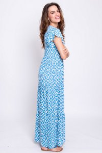 Vestido Longo Liz Ikat