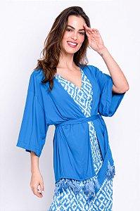 Kimono Kim Azul Porto