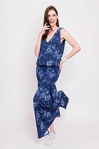 Vestido Longo ou Midi Cleia Tie Dye