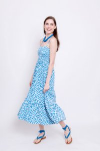 Vestido Lia Ikat