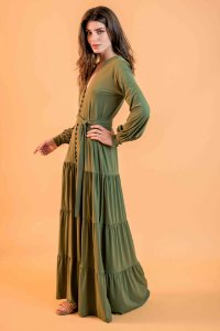 Vestido Betina Alcaparra