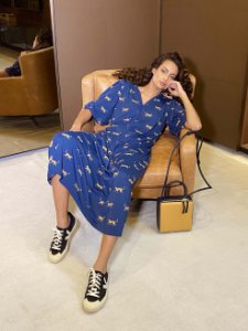 Vestido  Astrid Leopardo