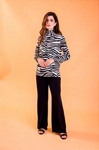 Blusa Lana Zebra