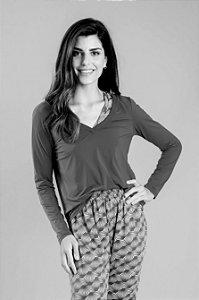 Blusa Cecilia Apricot