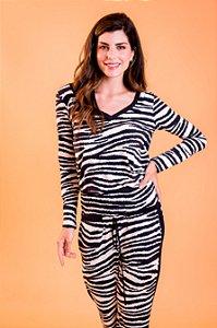 Blusa Cecilia Zebra