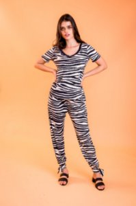 Camiseta Camile Zebra