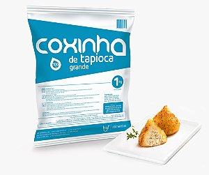 MINI COXINHA DE TAPIOCA COM FRANGO & REQUEIJÃO (1Kg)