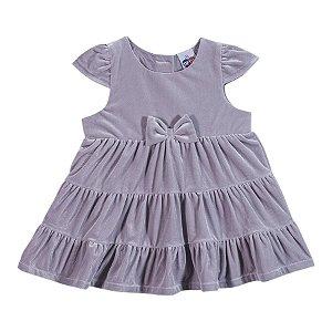 Vestido Menina Plush Tip Top