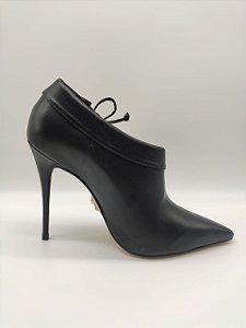 Ankle Boot Couro com Amarração Carrano N.36