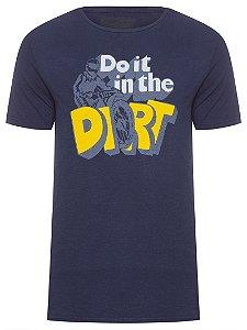 Camiseta Masculina Dirt Azul Reserva
