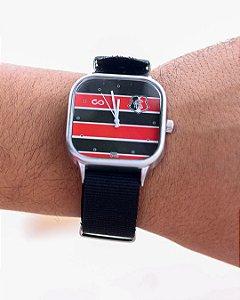 Relógio Oficial Santa Cruz Moov.S Uniforme 1 Preto