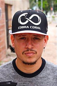 Boné Cobra Coral Slim Aba Reta