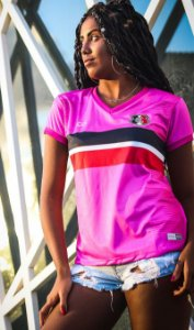 Camisa Rosa Torcedora Santa Cruz