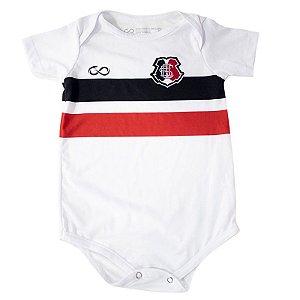 Body Infantil Branco Torcedor Santa Cruz