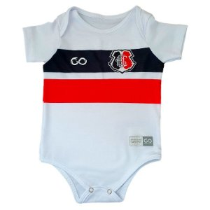 Body Infantil Santa Cruz Branco Slim