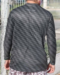 Camisa UV Texture Santa Cruz