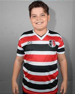 Camisa Tricolor Dry Santa Cruz Infantil