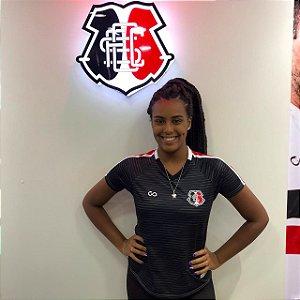 Camisa Cobra Coral Santa Cruz Concentração Atleta 2021 Feminina