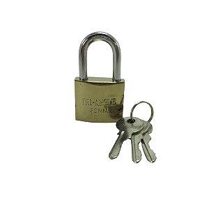 Cadeado 32mm com 3 chaves - TRI-ANGLE