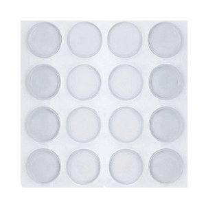 Protetor Batente Silicone 8mm Cartela com 100 unidades (gotas)