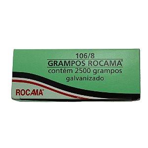 Grampos para grampeador 106/8 2500pcs Rocama