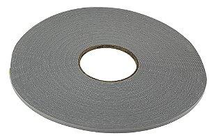 Rolo de fita de Espuma adesiva cinza com 30 metros