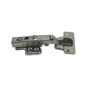 Dobradiça 35mm Com Amortecedor Calço Click 110º Reta - DMT