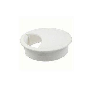 Passa Fio 46 mm Branco para Mesas em Geral