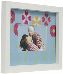 PORTA-RETRATOS IN LOVE P/ 1F 10X15CM FLORES