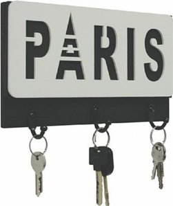 PORTA-CHAVE PARIS 13X22CM