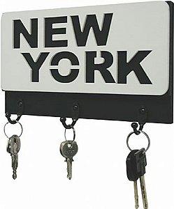 PORTA-CHAVE NEW YORK 13X22CM