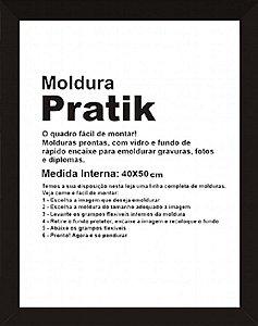 MOLDURA PRÁTICA 40X50CM