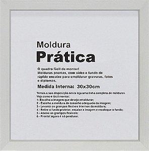 MOLDURA PRÁTICA 30X30CM