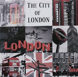 TELA DE CANVAS COLLECTION ENGLAND - THE CITY OF LONDON