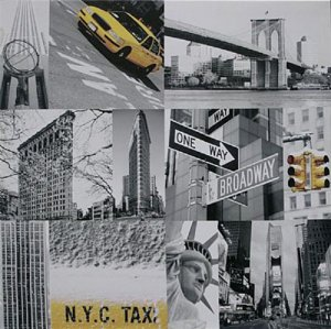 TELA DE CANVAS COLLECTION NY - N.Y.C TAXI